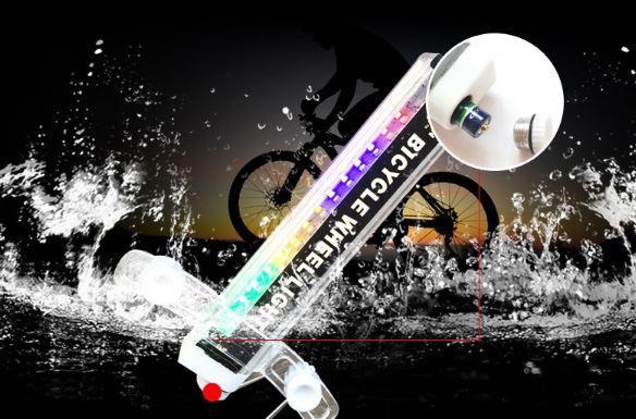 V12 Lumière À Effets Pour Roues De Vélo