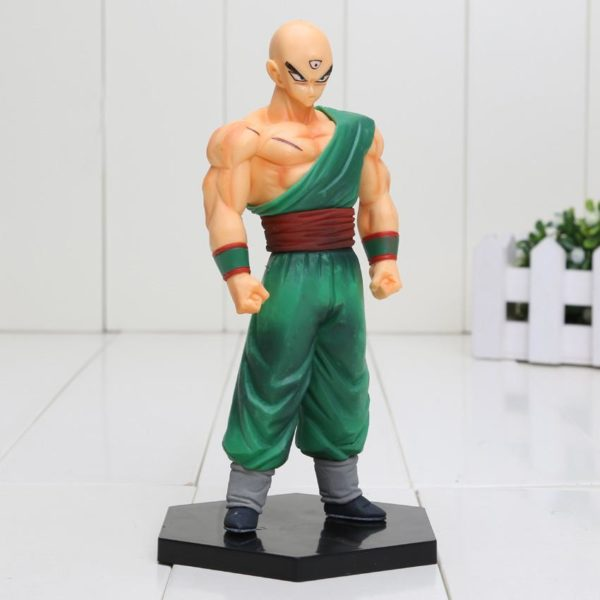 V 819692a9 d4ee 47fe 8ccd 5664045f53de Figurine Tien Shinhan 15 Cm Pvc Dragon Ball Z - Livraison Gratuite !