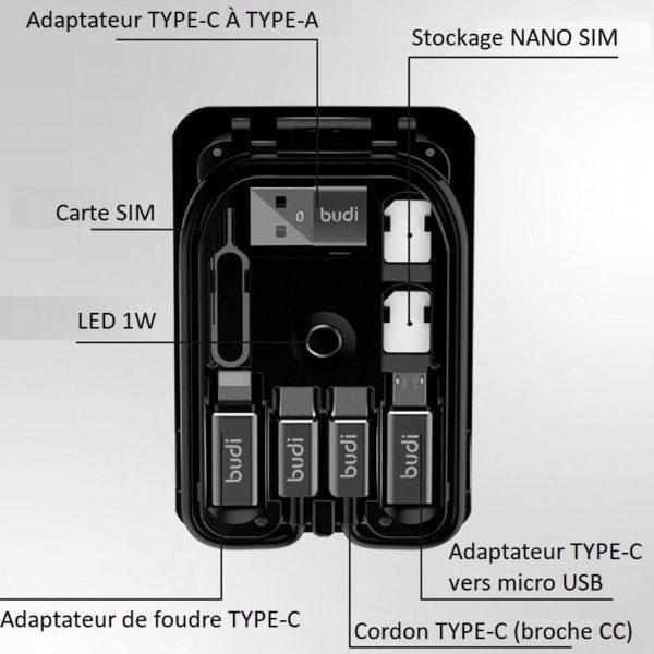 W10 Adaptateur Multifonction Universel Type C