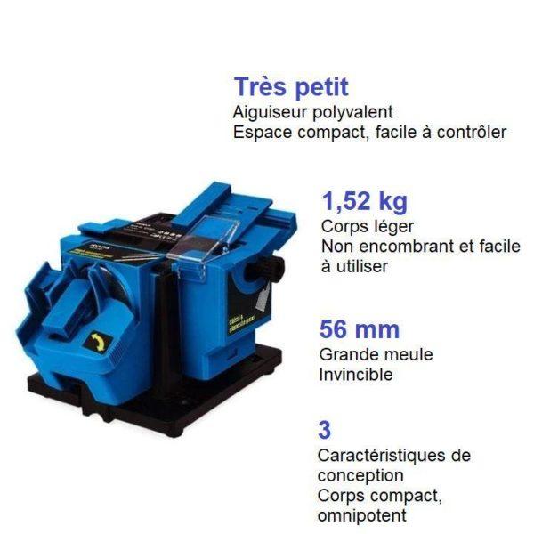 W4 Aiguiseur Electrique Multifonctionnel