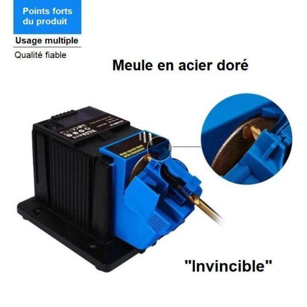 W6 Aiguiseur Electrique Multifonctionnel