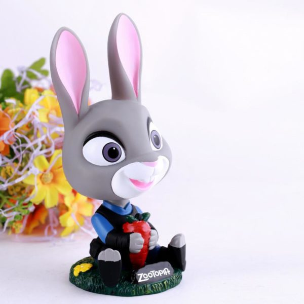 Zootopia Figure Jouets Lapin Judy Hopps Renard Nick Anime Figure Brinquedos PVC Action Figure Collection Figuras 1 7e4defb1 3363 4479 91cc 563a298d93d3 Figurine Lapin Judy Et Nick Le Renard (13 Cm) Zootopie - Livraison Gratuite !