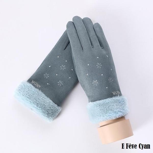 a113 Gants D'hiver Ecran Tactile Pour Femmes