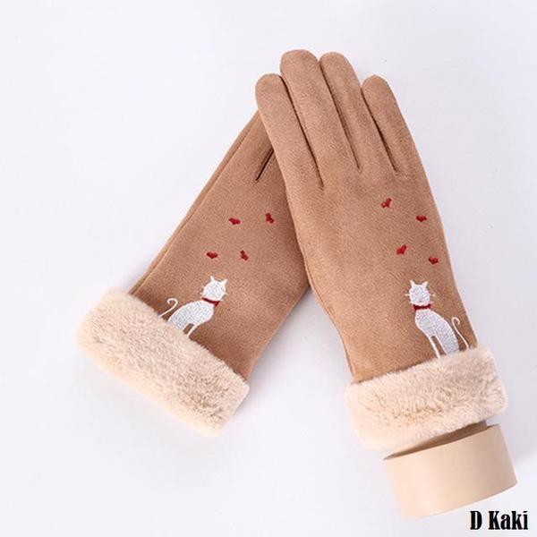 a115 Gants D'hiver Ecran Tactile Pour Femmes