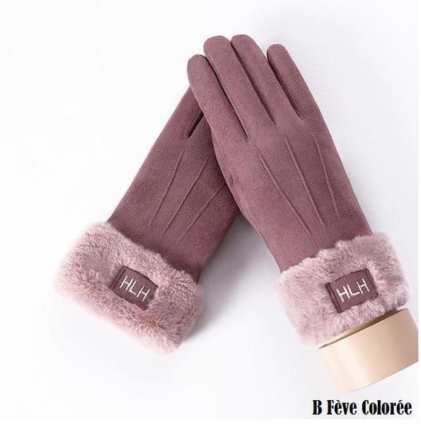 a116 Gants D'hiver Ecran Tactile Pour Femmes