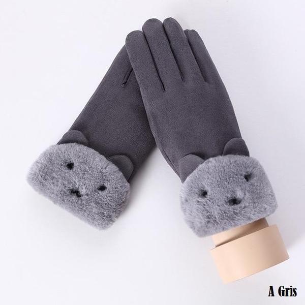 a120 Gants D'hiver Ecran Tactile Pour Femmes