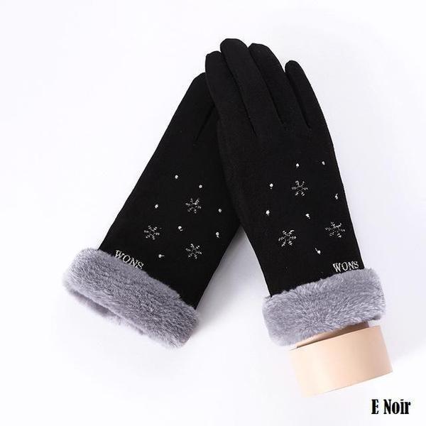 a121 Gants D'hiver Ecran Tactile Pour Femmes