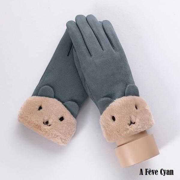 a122 Gants D'hiver Ecran Tactile Pour Femmes