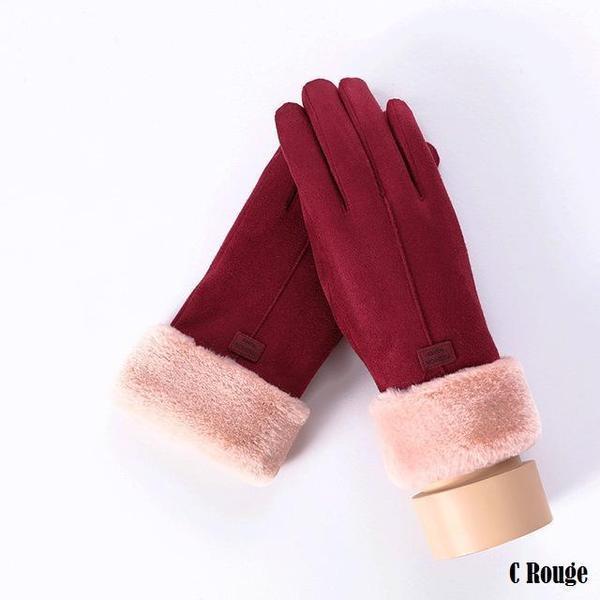 a123 Gants D'hiver Ecran Tactile Pour Femmes