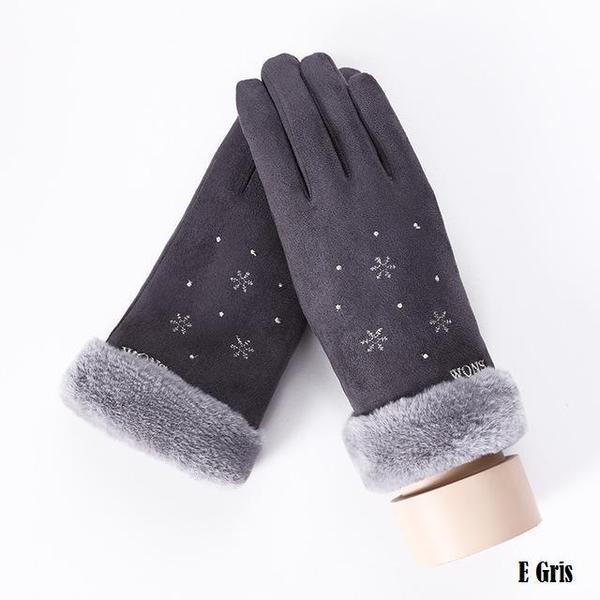 a130 Gants D'hiver Ecran Tactile Pour Femmes