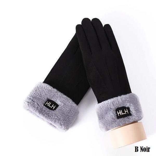 a133 Gants D'hiver Ecran Tactile Pour Femmes