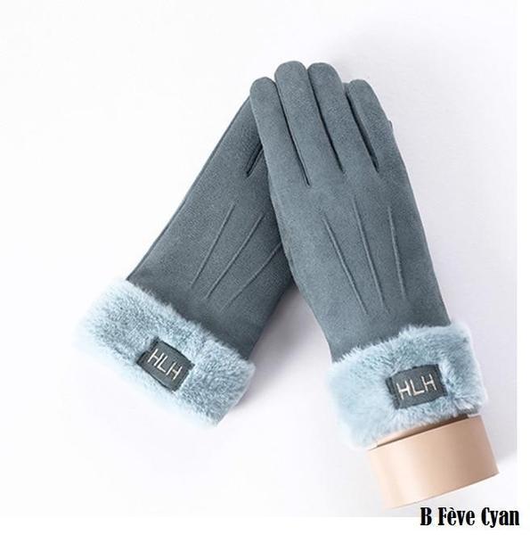 a140 Gants D'hiver Ecran Tactile Pour Femmes