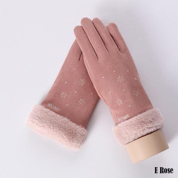 a142 Gants D'hiver Ecran Tactile Pour Femmes
