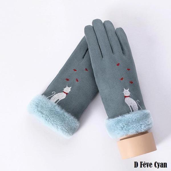 a144 Gants D'hiver Ecran Tactile Pour Femmes