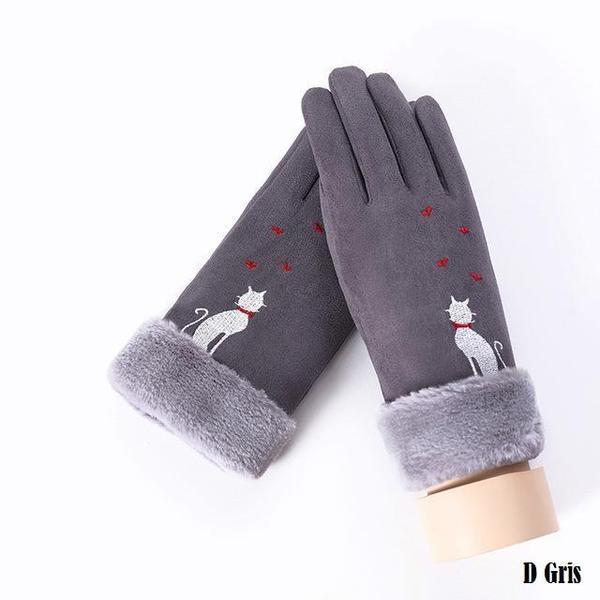 a146 Gants D'hiver Ecran Tactile Pour Femmes
