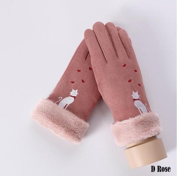 a148 Gants D'hiver Ecran Tactile Pour Femmes