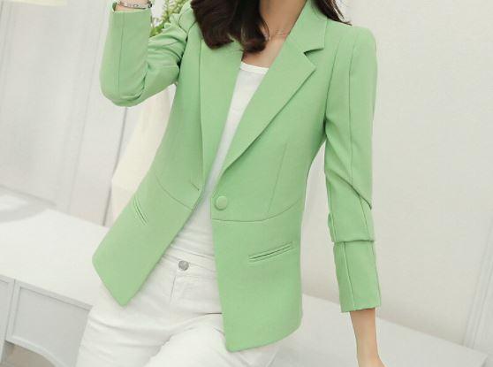 Veste-Blazer Femme Site Vêtements Vert S