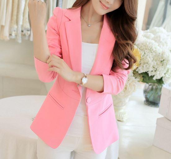 Veste-Blazer Femme Site Vêtements Rose S