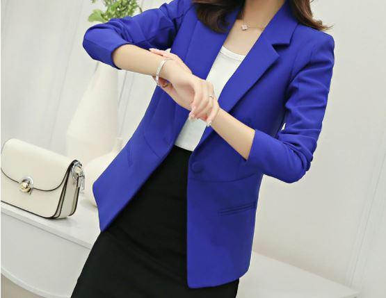 Veste-Blazer Femme Site Vêtements Bleu S