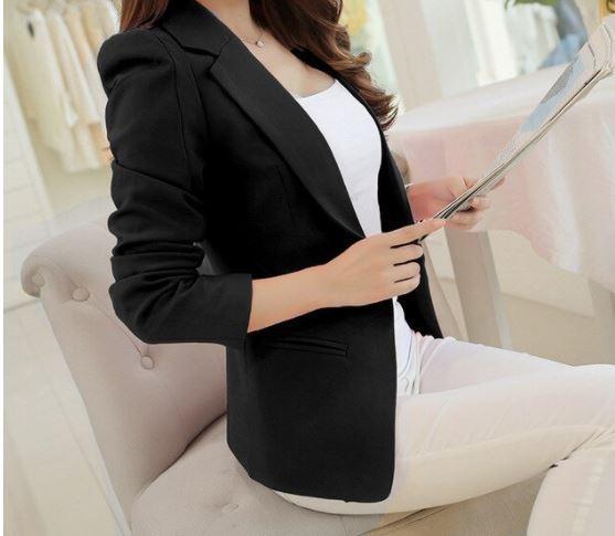 Veste-Blazer Femme Site Vêtements Noir S