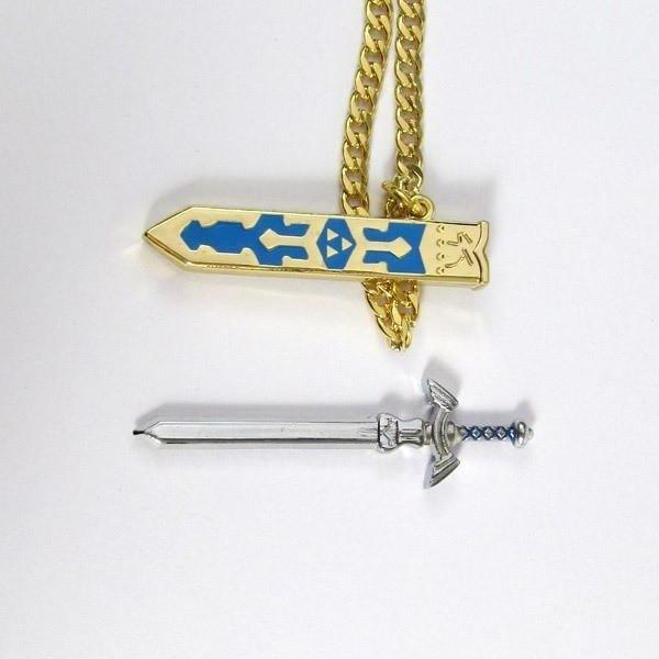 a8 318f17b0 368b 43fe ad0d 4e86082299c4 Collier Pendentif Épée Zelda