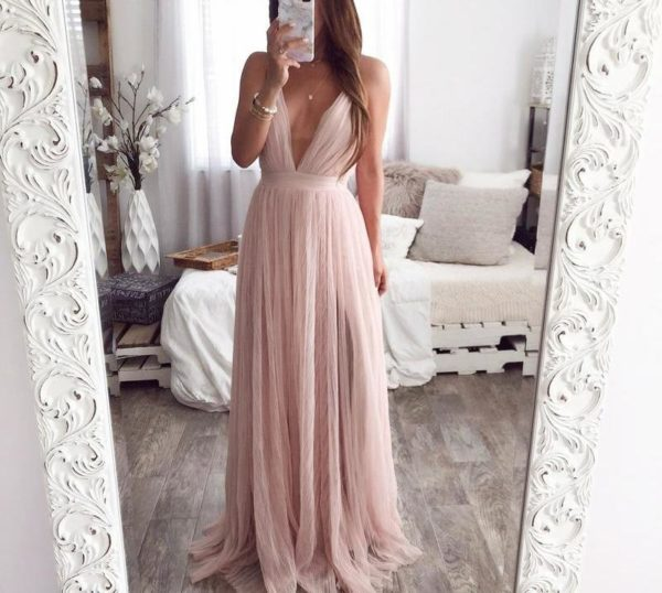 Robe Longue Effet Voile Minute Mode S
