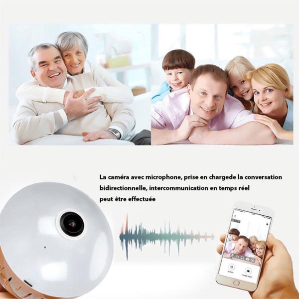 ampoule camera wifi Ampoule Camera : La Sérénité À Prix Pas Cher