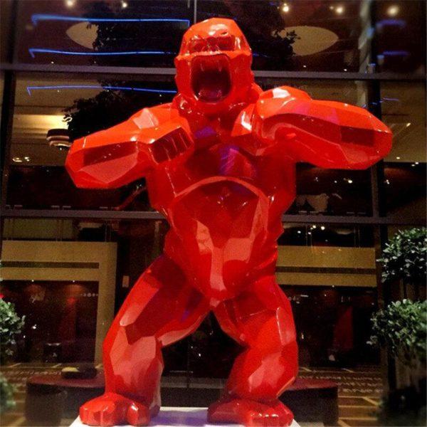 Statue Gorille Résine, Le Meilleur Objet De Décoration En Intérieur