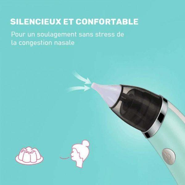 aspirateurnasalbebe Aspirateur Nasal Bébé : Le Meilleur Mouche-Bébé Électrique