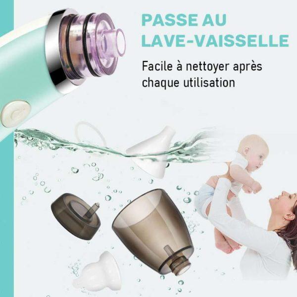 aspirateurnez Aspirateur Nasal Bébé : Le Meilleur Mouche-Bébé Électrique
