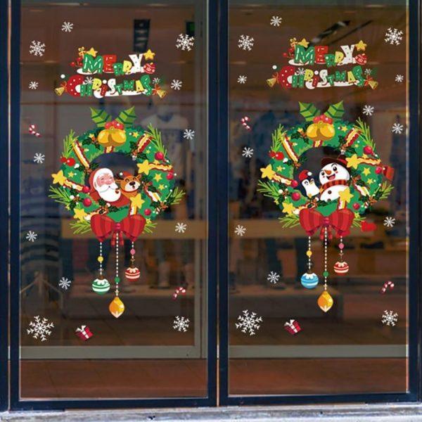 autocollantfenetrenoel 5675fda8 d75c 4b12 9908 6ad6377388bc Stickers De Noël Pour Fenêtres