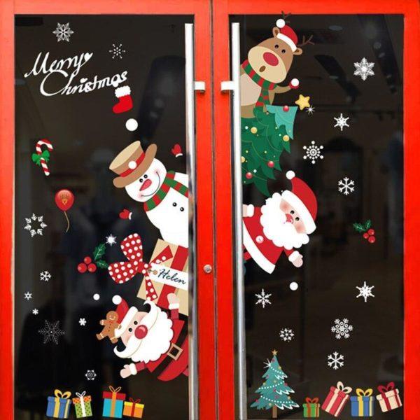 autocollantvitrenoel 3fecd833 bd0e 4297 8a2a 84a2d12d1161 Stickers De Noël Pour Fenêtres