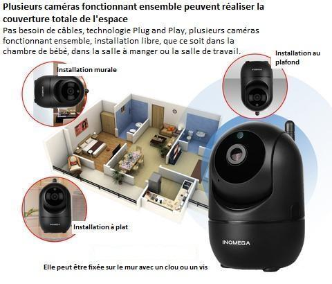 b7 Caméra De Surveillance Ingénieuse