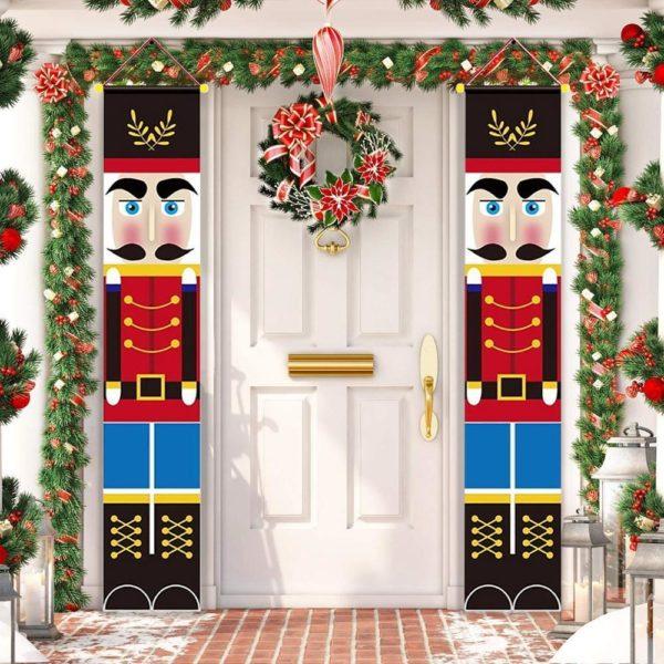 bannierenoel Bannières De Noël Pour La Décoration De Votre Porche