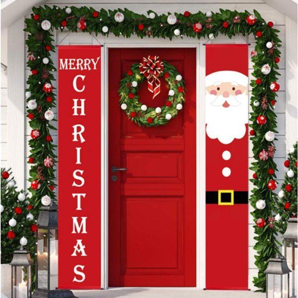 bannieresdenoel Bannières De Noël Pour La Décoration De Votre Porche