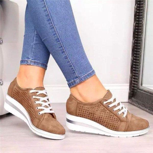 basketslegerespourfemme 28a1bcaa db28 4518 b998 c0c4347f1f5d Les Baskets Confort Lace Up Confortables