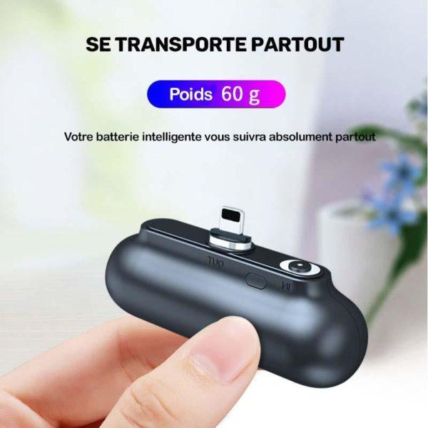 Mini Chargeur Magnétique Portable Boostcharge™
