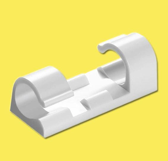 Attache-fils électriques (Lot de 20 pièces) Flash Ventes Blanc