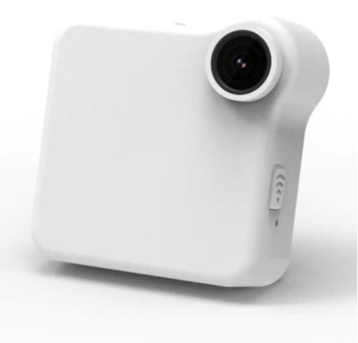 Mini Caméra IP Sans Fil raton-malin Blanche (sans carte SD)