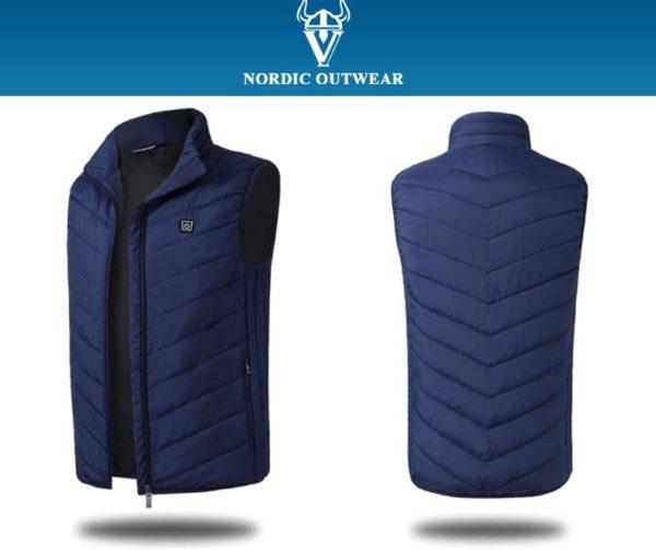 bleu 1 Veste Nordic Outwear