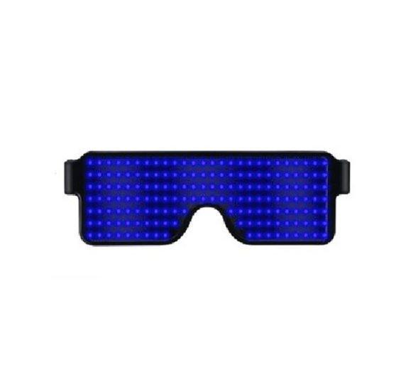 Lunettes Lumineuses LED Raton Malin Bleu