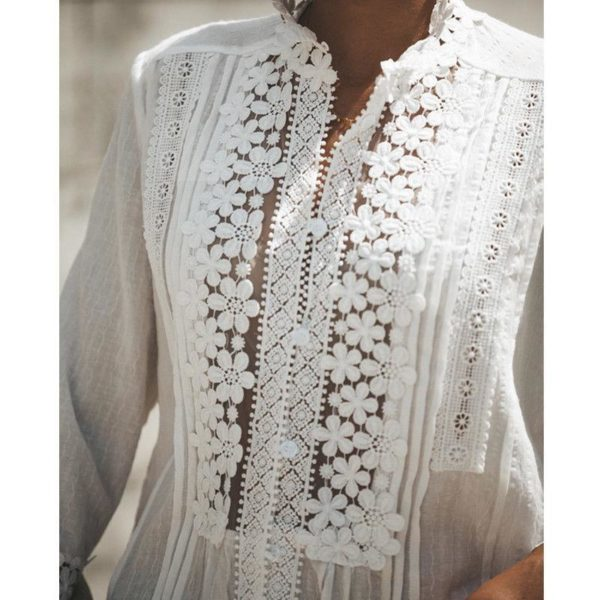 blouse6 Blouse Dentelle Fleurie 2020