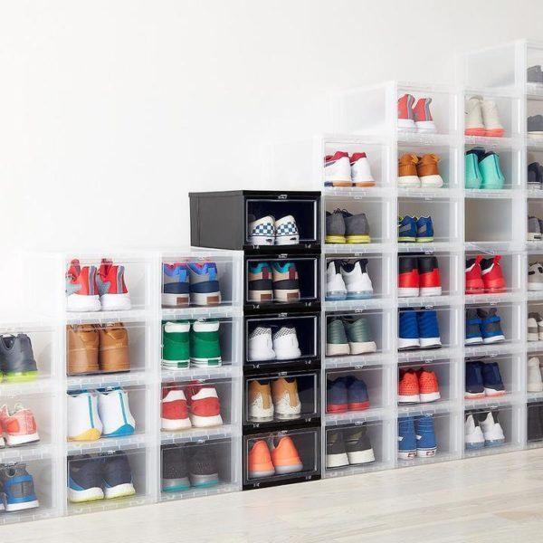 boiteachaussuregeante Le Rangement Boîte À Chaussures Pratique Pour Votre Intérieur