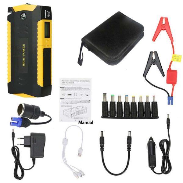 boosterbatterievoiture Booster Chargeur Démarreur Portable Pour Batterie