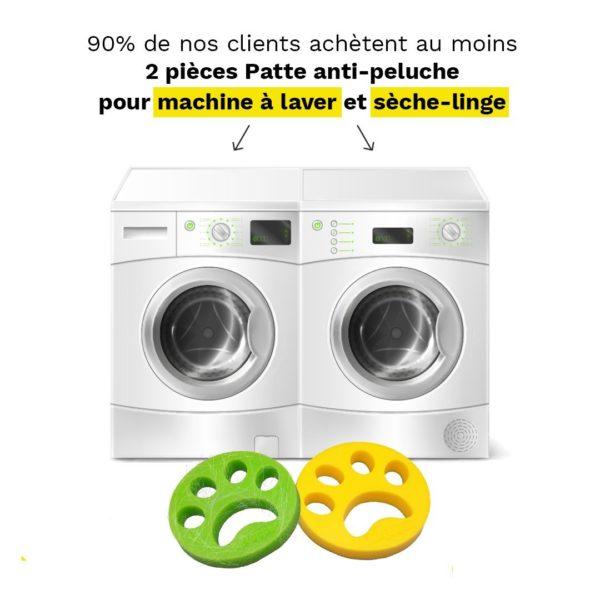 boulelavageantipoil Le Filtre Attrape Poil Pour Machine À Laver À Utiliser Facilement