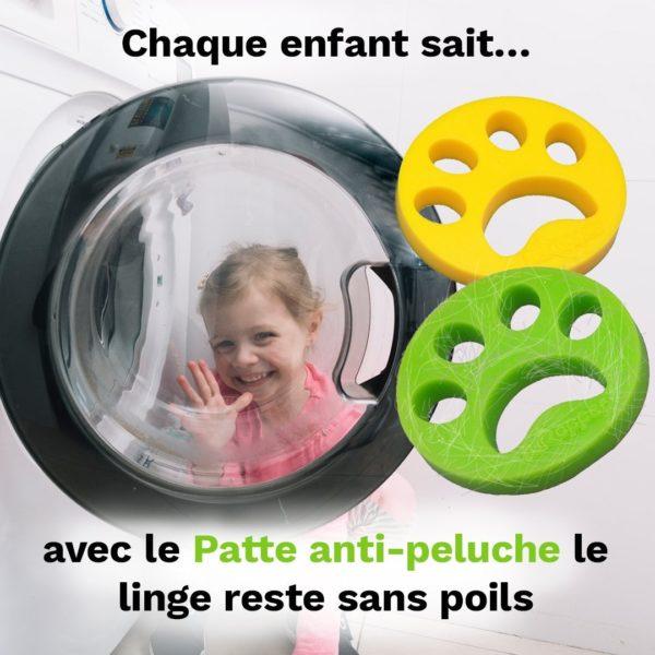 boulemachinealaverantipoil Le Filtre Attrape Poil Pour Machine À Laver À Utiliser Facilement