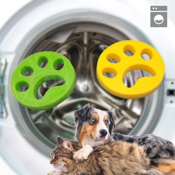 boulepourmachinealaverantipoil Le Filtre Attrape Poil Pour Machine À Laver À Utiliser Facilement