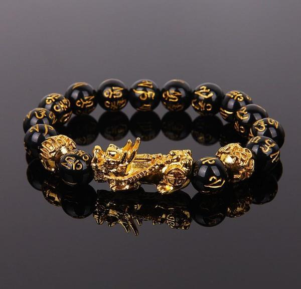 bracelet en obsidienne noire feng shui Bracelet En Obsidienne Noire Feng Shui