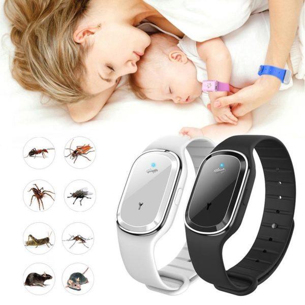 braceletmoustique Notre Bracelet Anti Moustique Ultrason À L'utilisation Pratique
