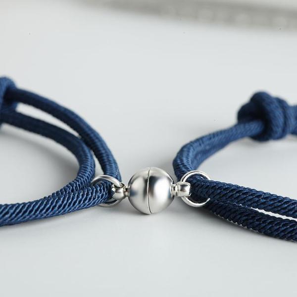 bracelets de couple magnetiques Bracelets De Couple Magnétiques - 2 Pièces